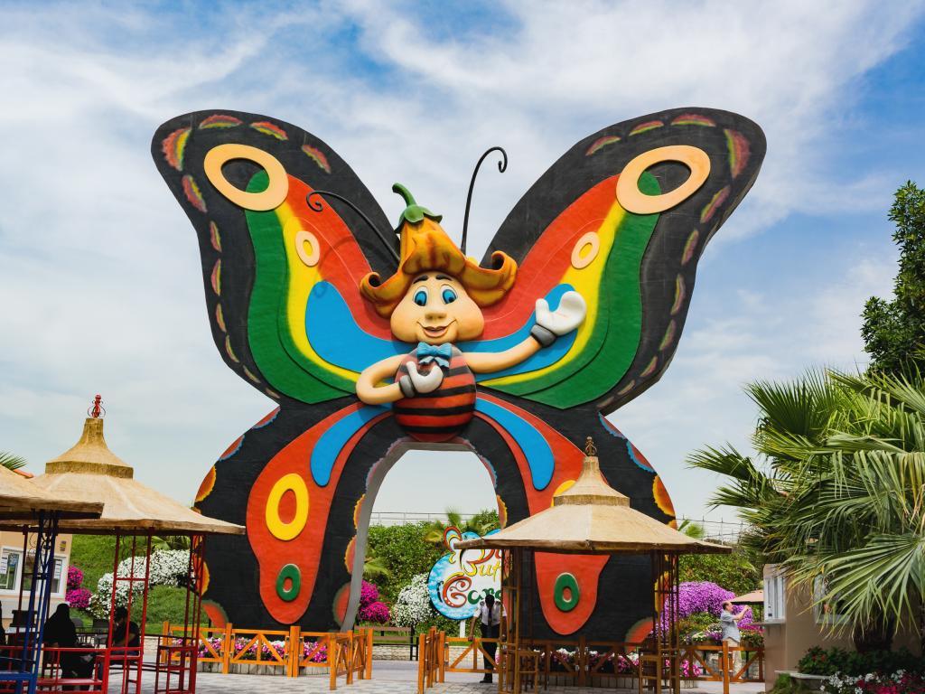 Der Butterfly Garden in Dubai