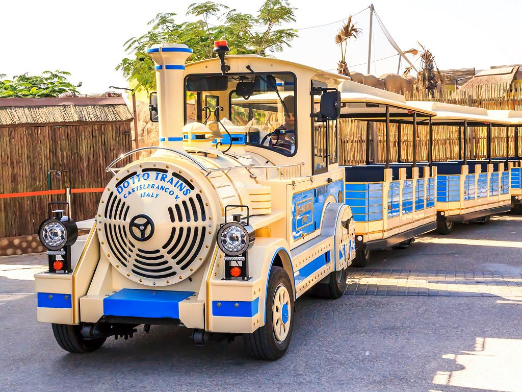 Dubai Safari Park Tram