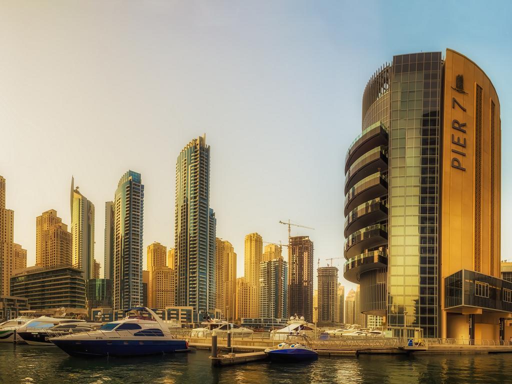 Dubai Pier 7