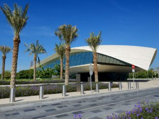 Etihad Museum in Dubai