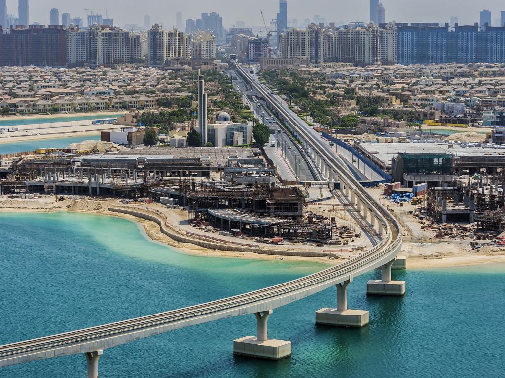 Palm Jumeirah Monorail Dubai