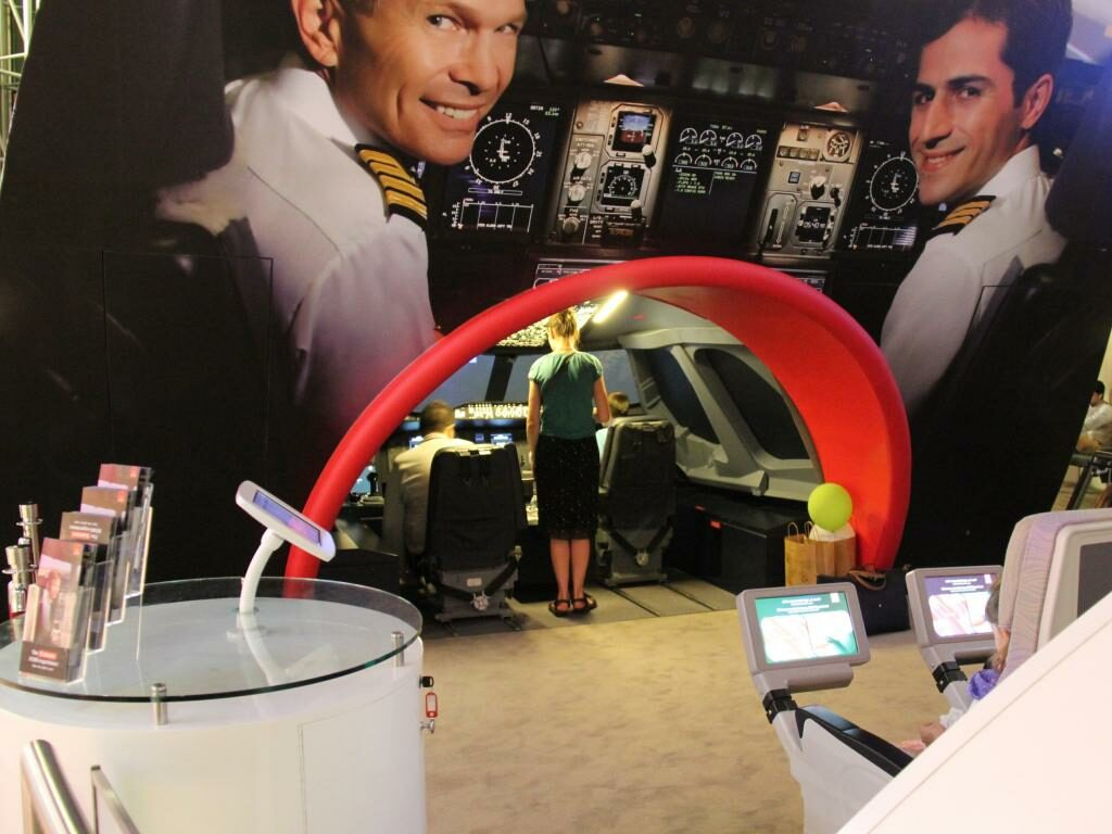 The Emirates A380 Experience