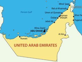 Dubai Karte
