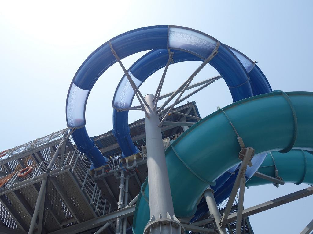 Rutschen im Laguna Waterpark