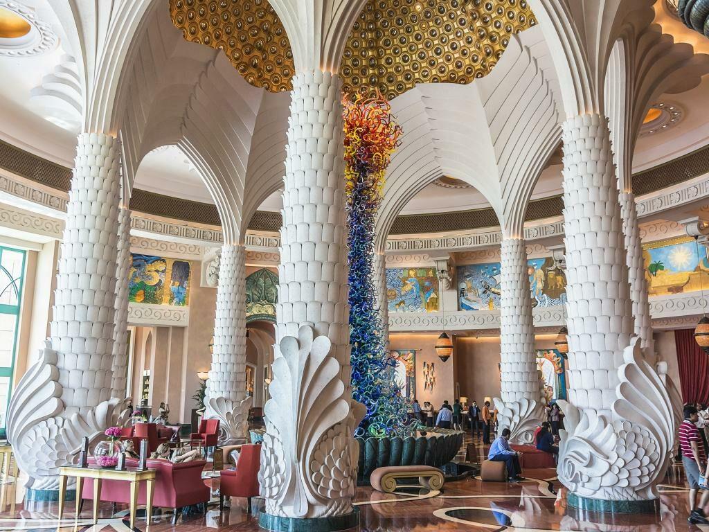 Lobby vom Atlantis The Palm Dubai