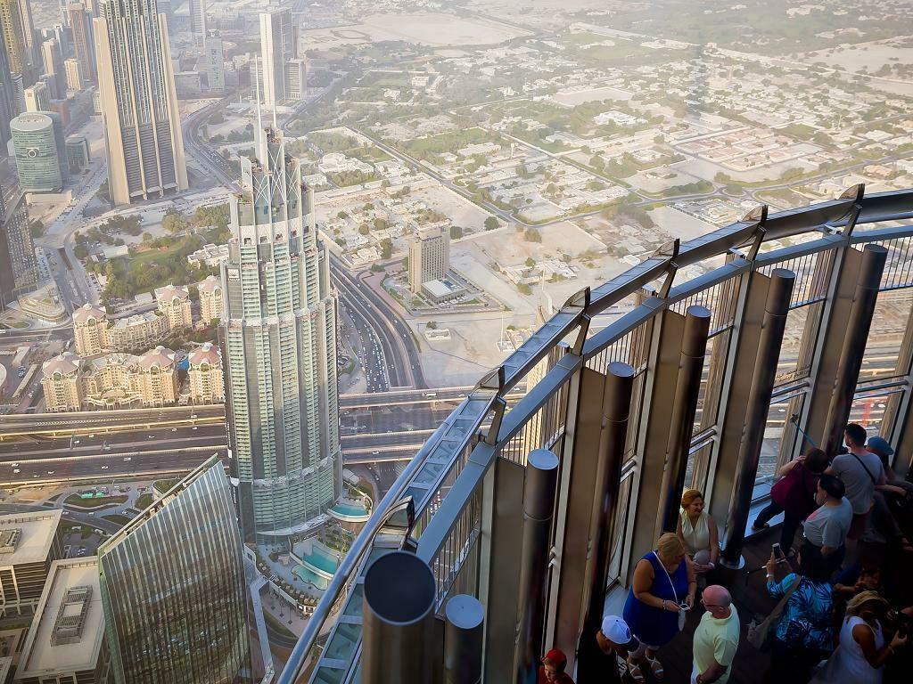 At the Top Burj Khalifa Aussichtsplattform