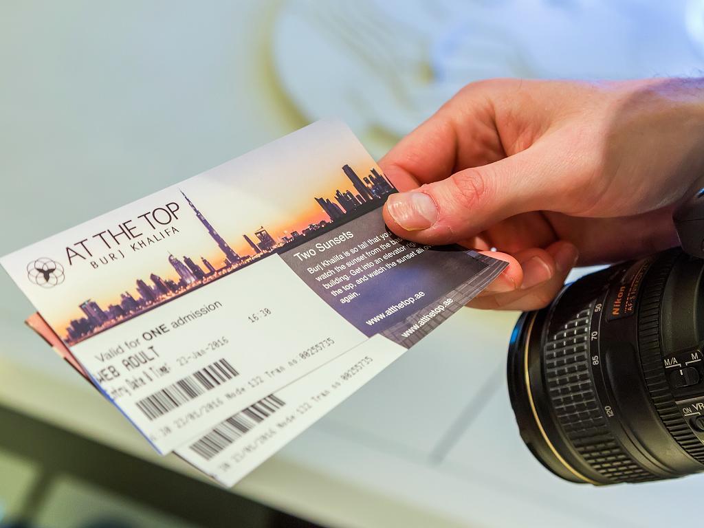 Burj Khalifa Ticket