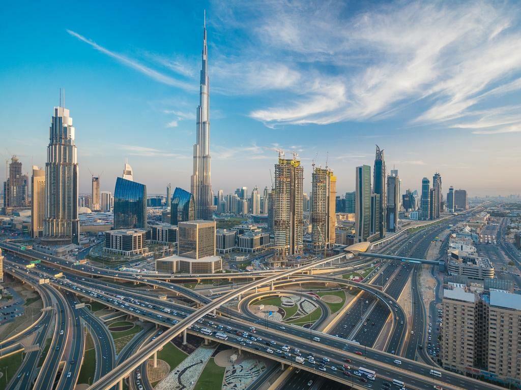 Burj Khalifa Wolkenkratzer in Dubai