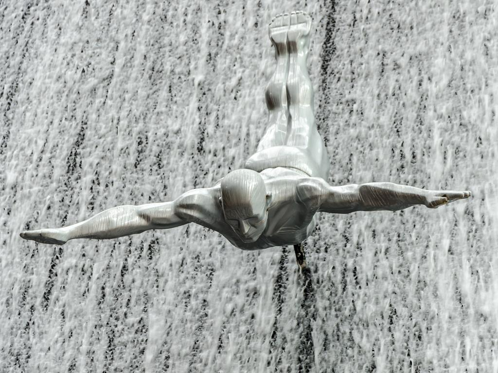 Dubai Wasserfall