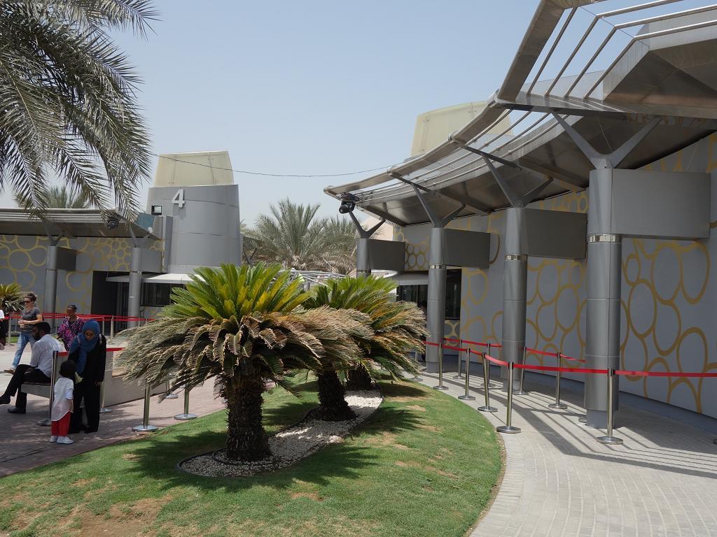 Der Eingang zum Dubai Frame