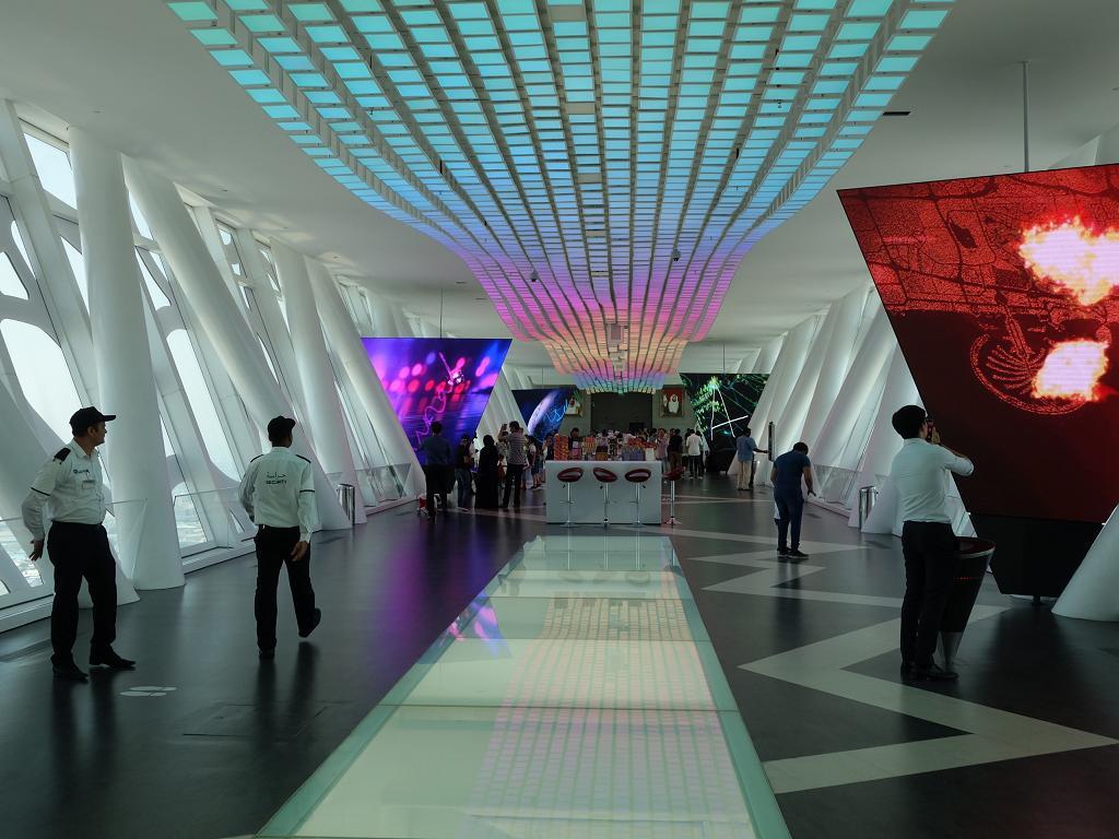 Skybridge vom Dubai Frame