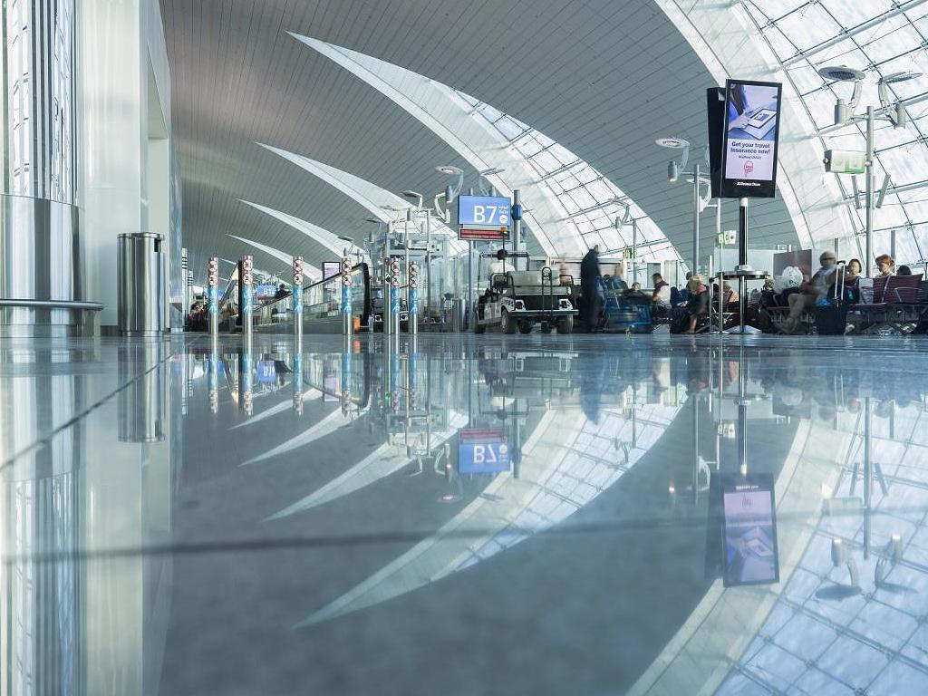 Flughafen Dubai Terminal