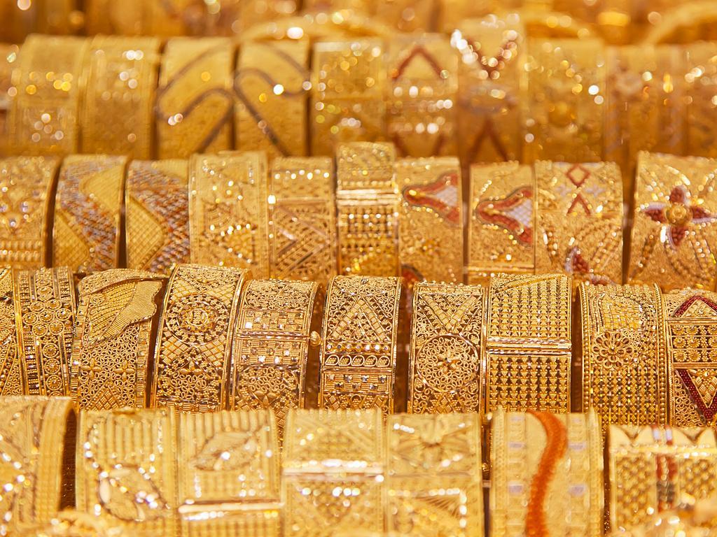Viel Goldschmuck im The Souk der Dubai Mall