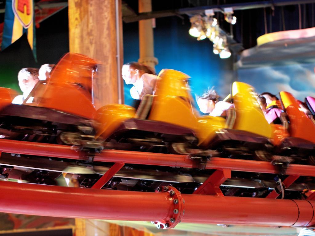 Der Indoor Freizeitpark IMG Worlds of Adventure