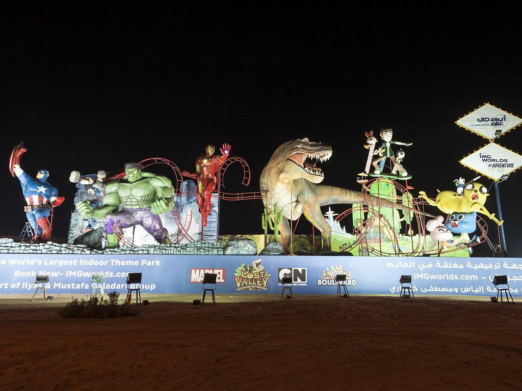 IMG Worlds of Adventure in Dubai