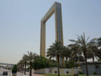 The Dubai Frame Wolkenkratzer