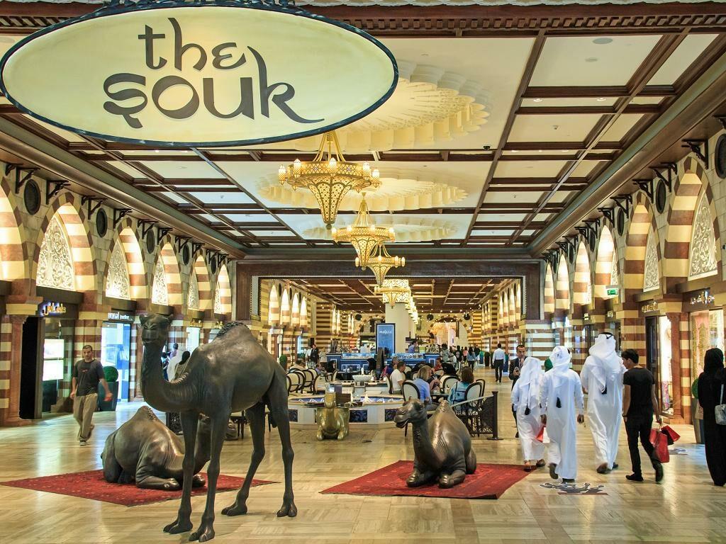 The Souk in der Dubai Mall