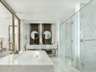 Badezimmer im Waldorf Astoria Dubai Palm Jumeirah