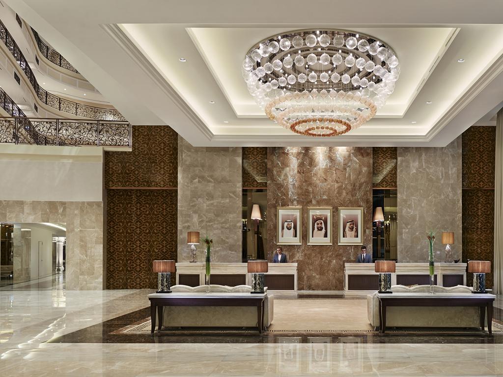 Die Lobby vom Waldorf Astoria Dubai Palm Jumeirah
