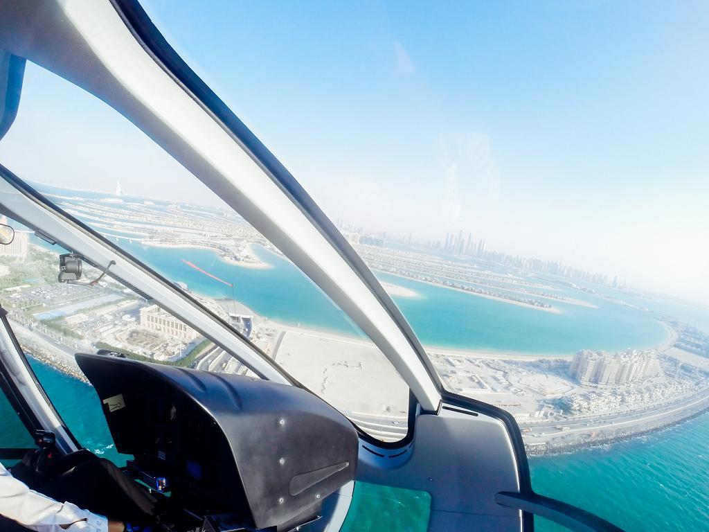 Dubai Hubschrauberrundflug