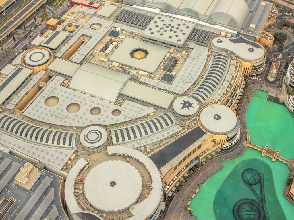 Dubai Mall Panorama