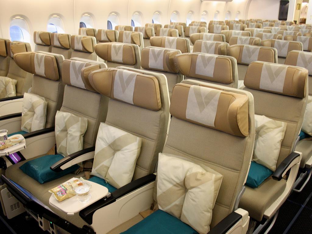 Die Economy Class von Etihad Airways