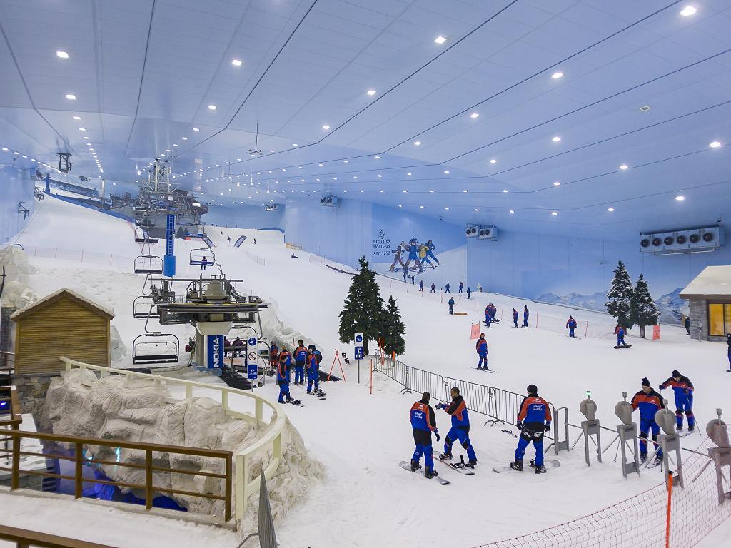 Ski Dubai Skihalle