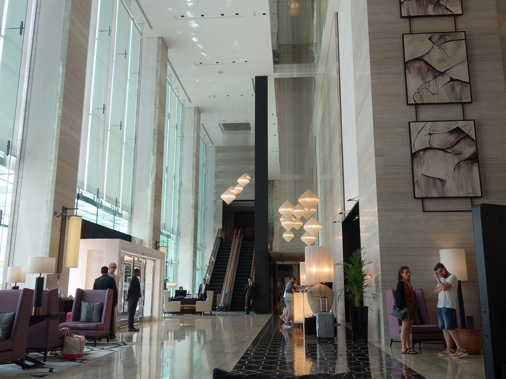 Die Lobby vom Steigenberger Hotel Business Bay