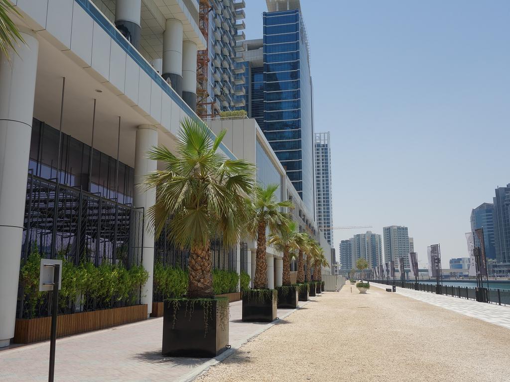 Promenade beim Steigenberger Hotel Business Bay
