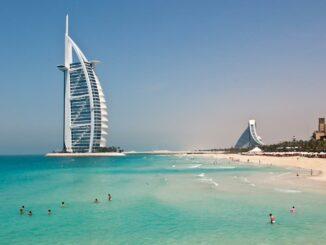 Burj al Arab und Jumeirah Beach Hotel