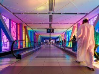 Burj Khalifa Dubai Mall Metro Station