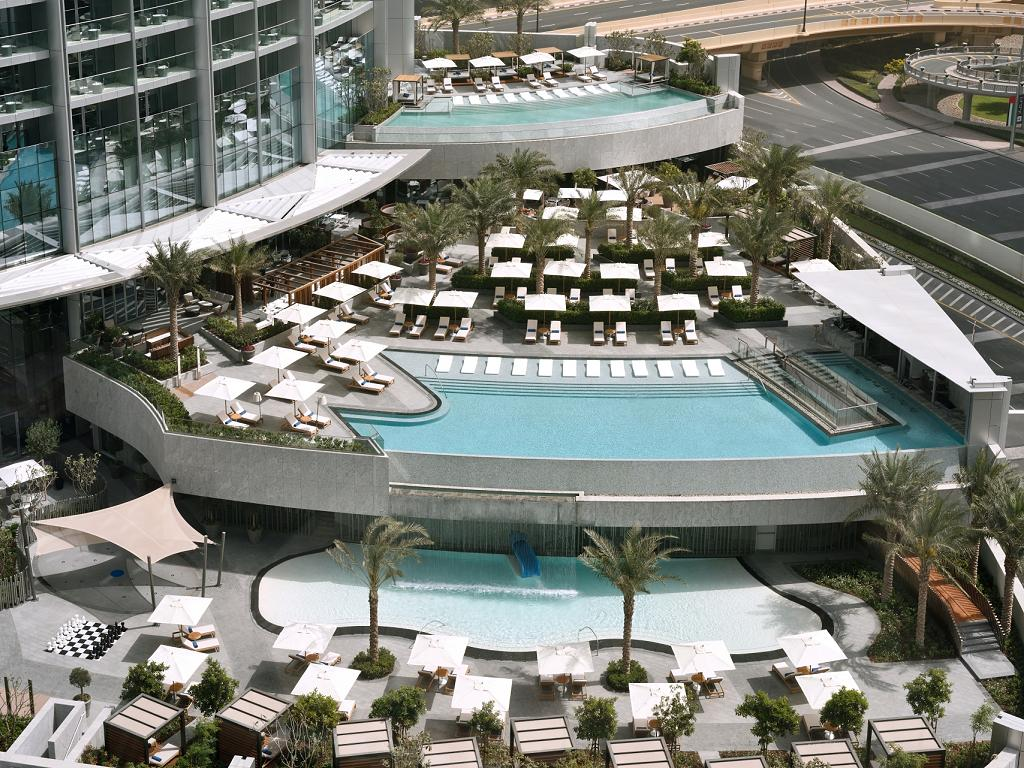 © Address Boulevard Dubai Pool