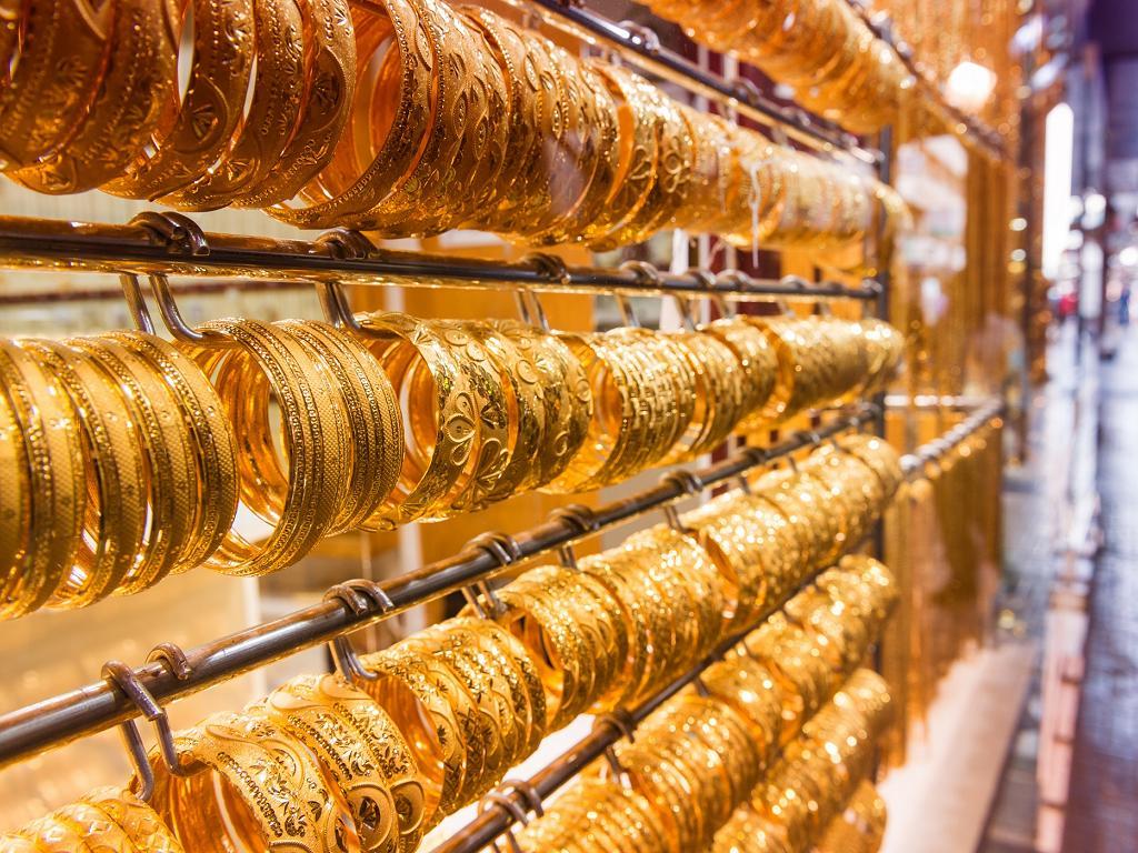 Schmuck im Gold Souk Dubai