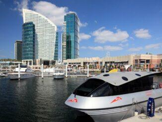Dubai Water Taxi Anlegestelle