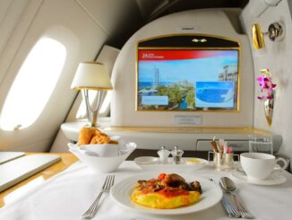 First Class von Emirates Airline