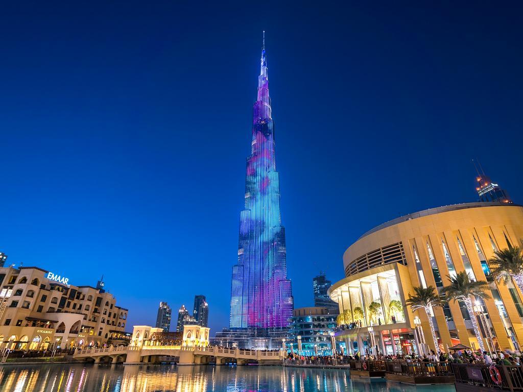 Burj Khalifa Lichtershow