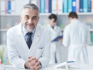 Ein Arzt in Dubai