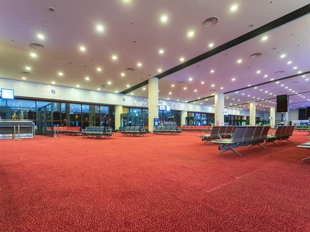 Terminal im Al Maktoum International Airport