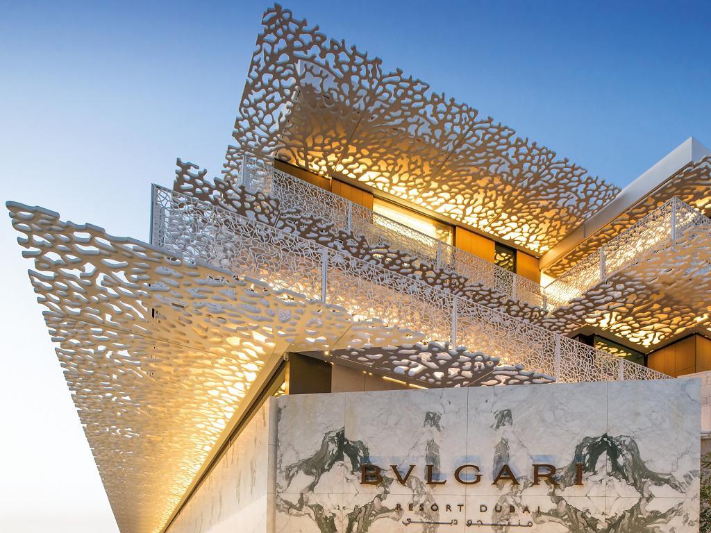 © Bulgari Resort Dubai Hoteleingang