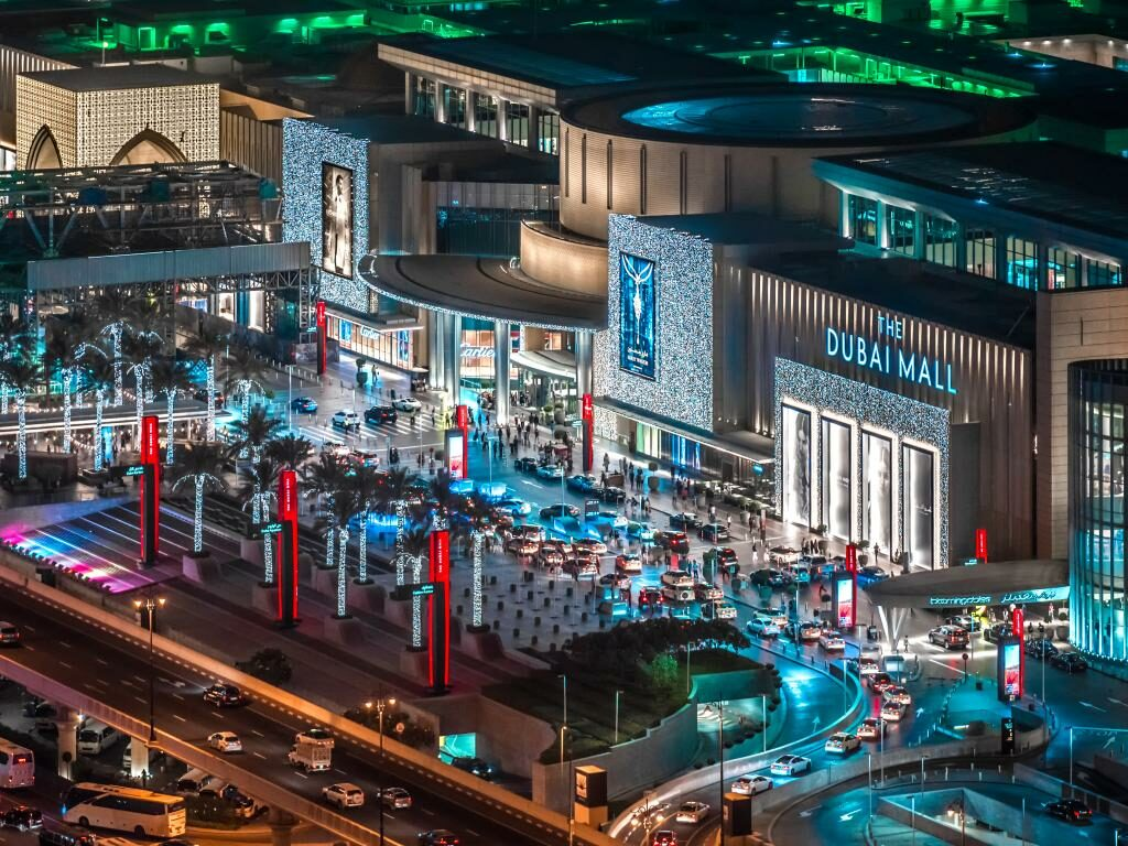 Dubai Mall Shopping Center