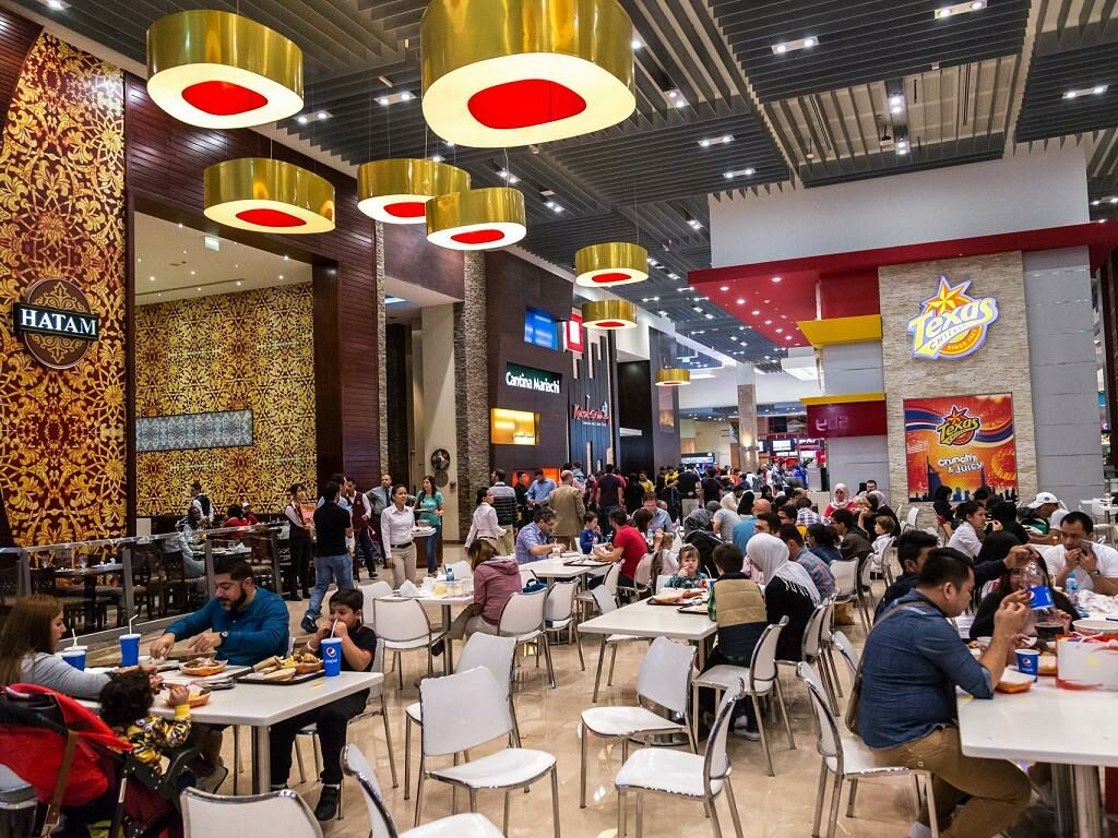 Food Court in Dubai