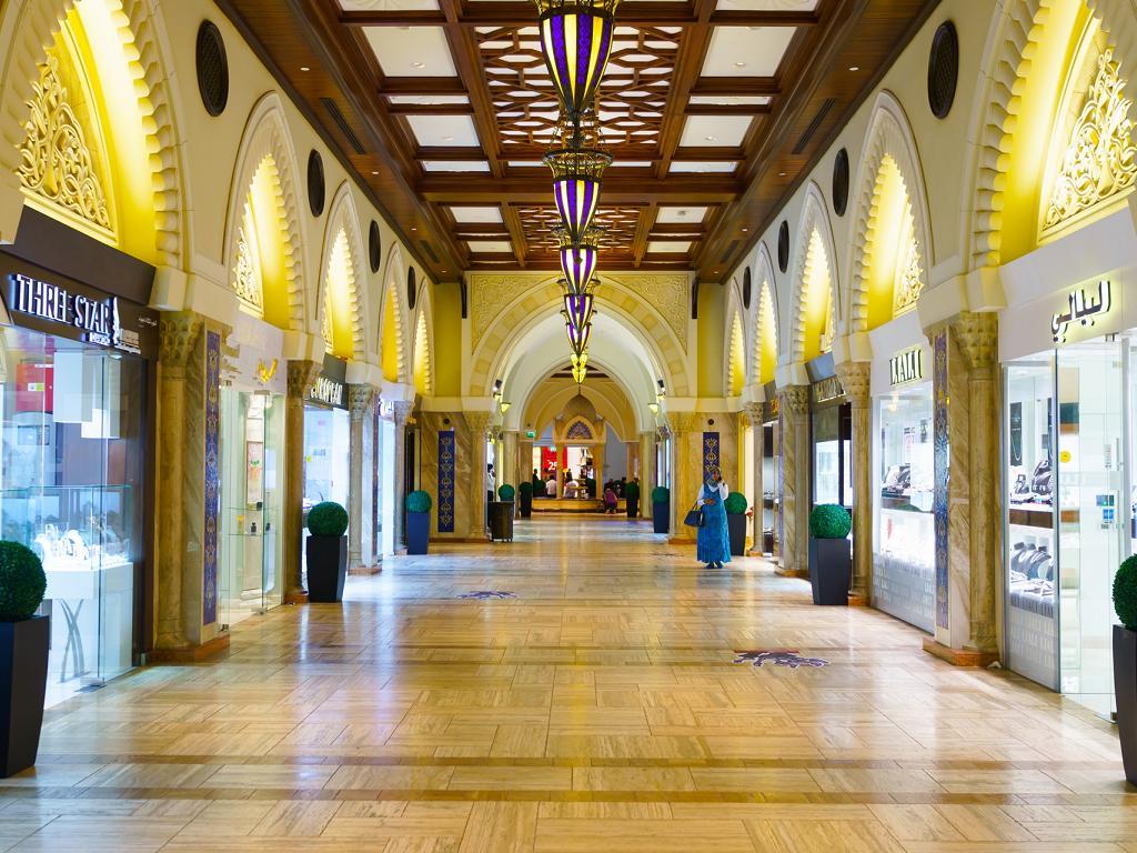 Geschäfte im Dubai Mall Gold Souk