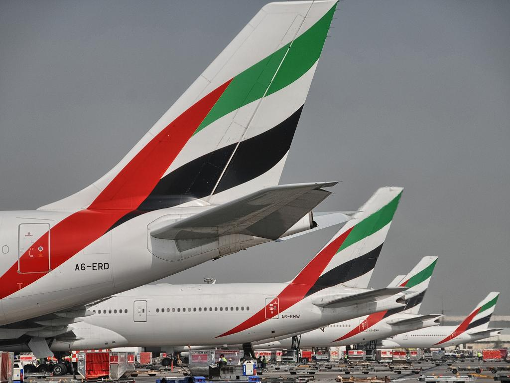 Flugzeuge von Emirates