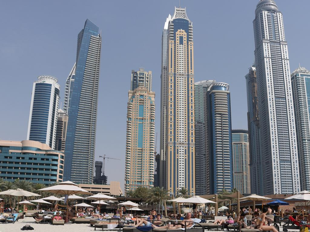 Der Barasti Beach in Dubai
