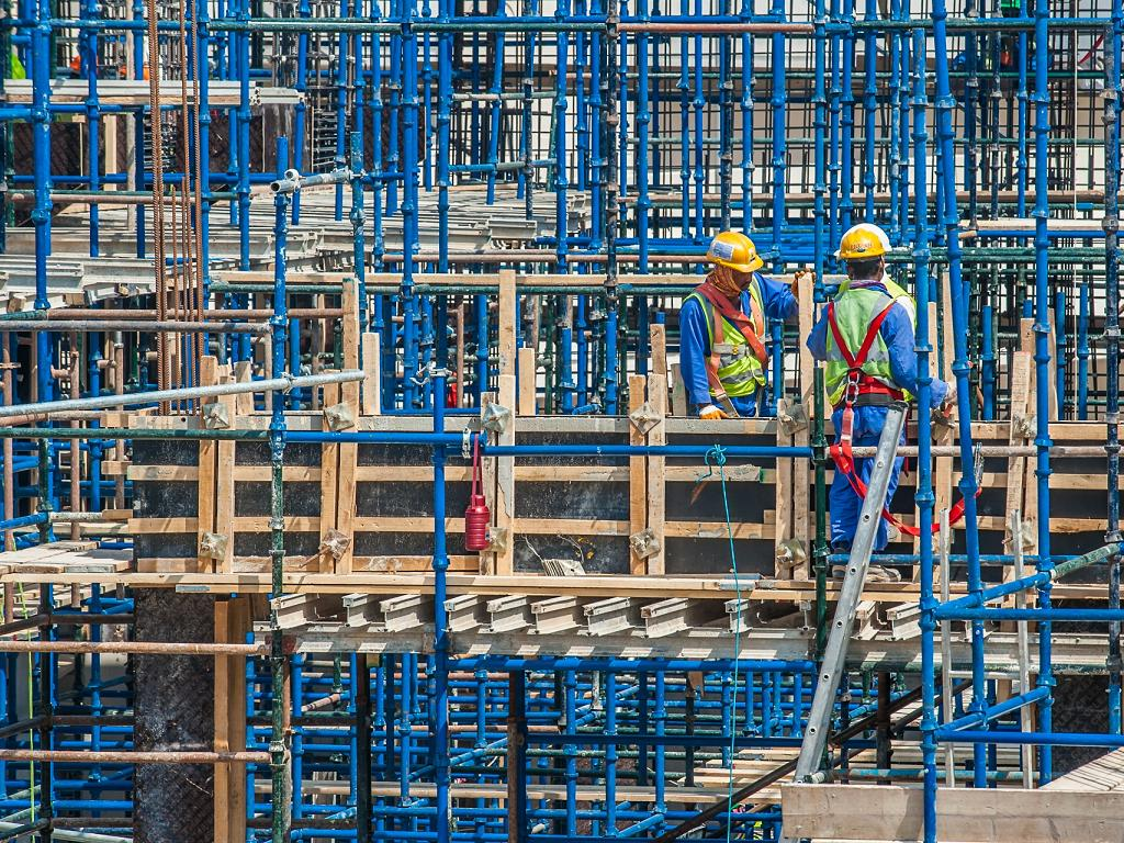 Baustelle Dubai