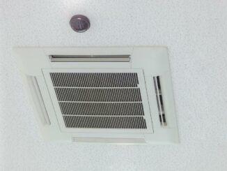 Eine Klimaanlage in Dubai