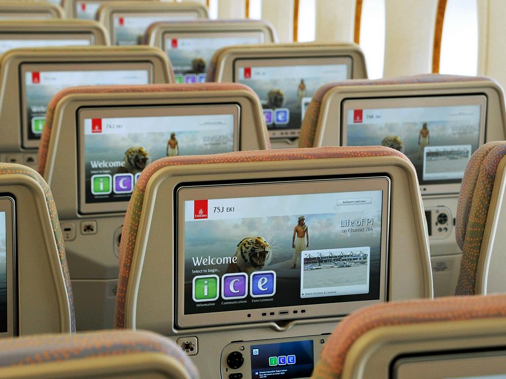 © Emirates | Bordunterhaltungsprogramm ice