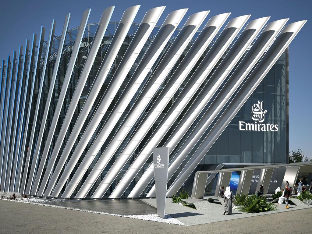 Der Pavillon von Emirates auf der Expo 2020 | © Emirates