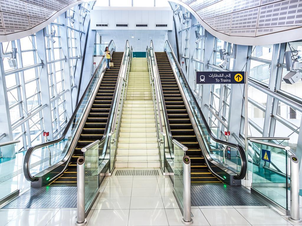 Dubai Metro Eingang