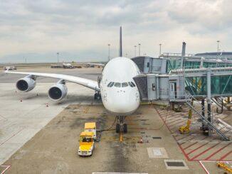 Airbus A380 von Lufthansa